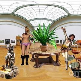 Pemaro - Virtartual Exhibition - Dancing girls 3