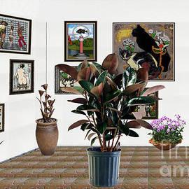 Pemaro - Virtual Exhibition -  rubber plant 16
