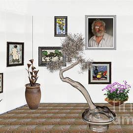 Pemaro - Virtual Exhibition - Statue of bonsai 2
