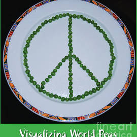 Visualizing World Peas Poster by Poet's Eye