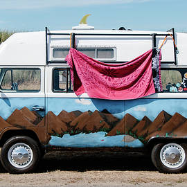 Volkswagon Surf Van by Lost River Photography
