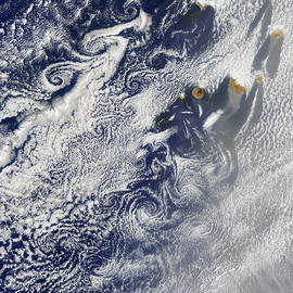Nasa - Von Karman Vortices, Cape Verde Islands