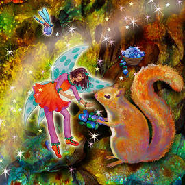 Vonita Twinkle with Forest Friends by Teresa Ascone