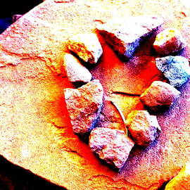 Marlene Rose Besso - Vortex Heart Red Rocks