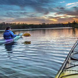 Norris Seward - Voyageur Island Sunset Sault Ste. Marie, Michigan