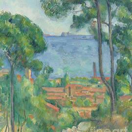 Vue sur L Estaque et le Chateau d If - Paul Cezanne