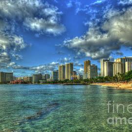 Reid Callaway - Waikiki Beach Sunset Honolulu Hawaii Collection Art