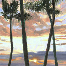 Wailea Sunset - Steve Simon