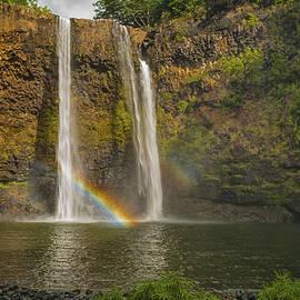Wailua Falls Rainbow by Brian Harig