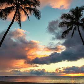 Waimea Beach Sunset 3 - Oahu Hawaii by Brian Harig