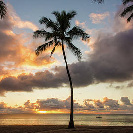 Brian Harig - Waimea Beach Sunset - Oahu Hawaii