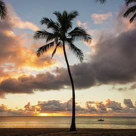 Waimea Beach Sunset - Oahu Hawaii by Brian Harig