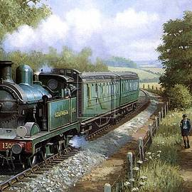 Wainwright 0-4-4T in Kent. - Mike Jeffries
