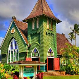 Wai'oli Hui'ia Church by DJ Florek