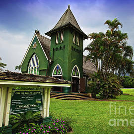 Waioli Huiia Church On The Garden Island Of Kauai, Hawaii by Sam Antonio Photography