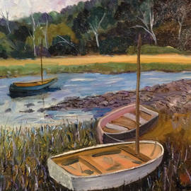 Richard Nowak - Waiting Boats, Maine