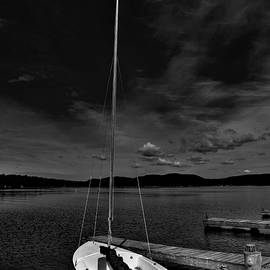 Waiting to Sail on Fourth Lake by David Patterson