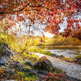 Walk Along the River by Debra and Dave Vanderlaan