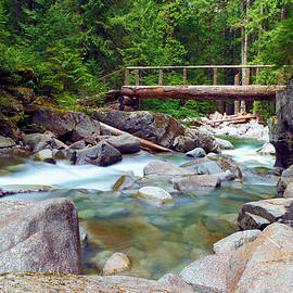Jeff Swan - Walk bridge across Deception Creek