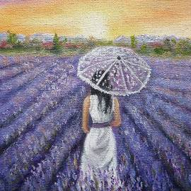 Vesna Martinjak - Walk On Lavender Field