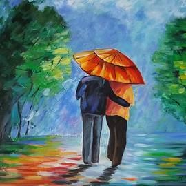 Rosie Sherman - Walking in the Rain II