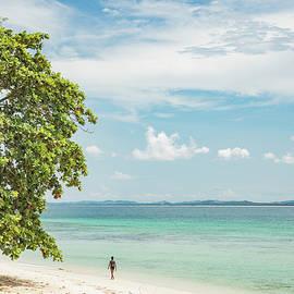 Julian Regan - Walking on the Beach, Kapas Island