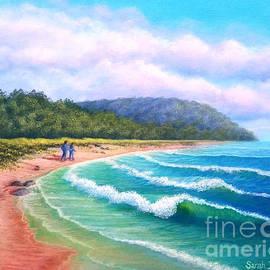 Walking the Beach by Sarah Irland
