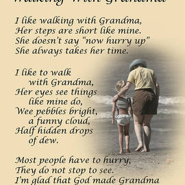 Walking With Grandma by Dale Kincaid