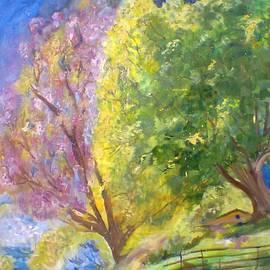 Khalid Saeed - Walnut trees