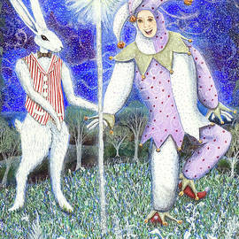 Lise Winne - Wand with Magician and Jester