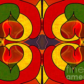 Omaste Witkowski - Wandering Levels Of Transformation Abstract Art by Omashte