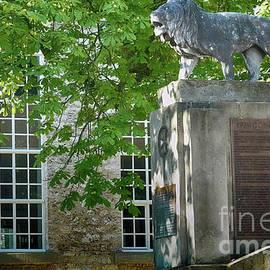 War Memorial In Dransfeld by Eva-Maria Di Bella