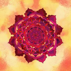 Warm Autumn Mandala - Thubakabra