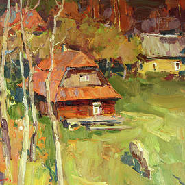 Warm October by Aleksandr Kryushyn