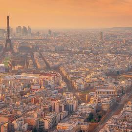 Warm Paris Sunset by Darren White