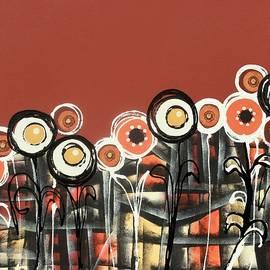 Graciela Bello - Warm red flowers