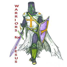 Warriors for Jesus T-shirts of Beverly Guilliams by Beverly Guilliams