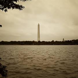 Bill Cannon - Washington Monument in Sepia