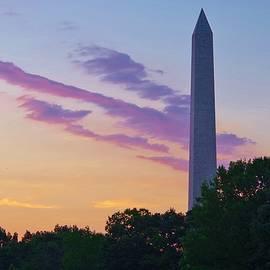 Washington Monument Sunrise by Buddy Scott
