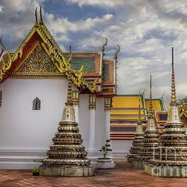 Wat Pho in Bangkok, Thailand by Liesl Walsh