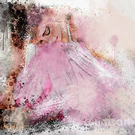 Water Colour Ballerina