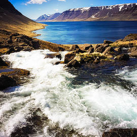 Water in Iceland - beautiful West Fjords