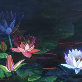 Nancy Shen - Water lilies