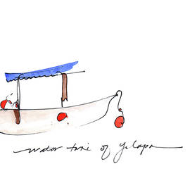 Water Taxi Of Yelapa by Anna Elkins