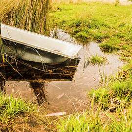 Water troughs and outback farmland - Jorgo Photography - Wall Art Gallery