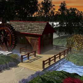 John Pangia - Water Wheel