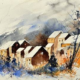 Pol Ledent - watercolor 115082