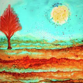 Lilia D - Watercolor landscape 2