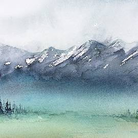 Watercolor Sketch 4 by Carolyn Doe