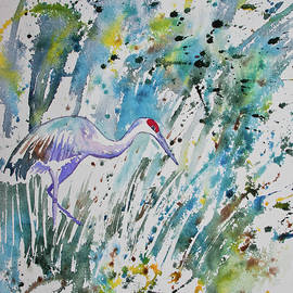 Cascade Colors - Watercolor - The Crane